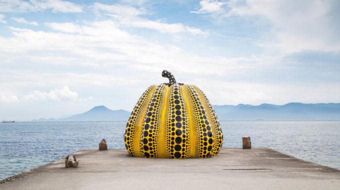Yayoi Kusama Soft Sculpture Pumpkin